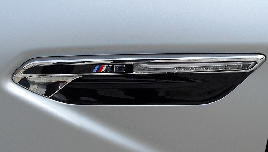 BMW M6 Gran Coupé: Typisch sind die seitlichen Kiemen.
