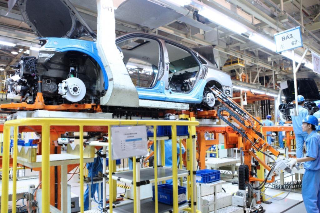 Bereits jetzt liefert Volkswagen China jährlich 2,8 Millionen Fahrzeuge aus
