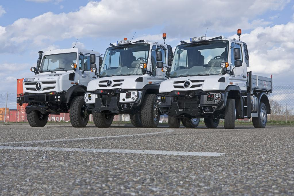 Daimler Trucks: Vieles neu beim Unimog