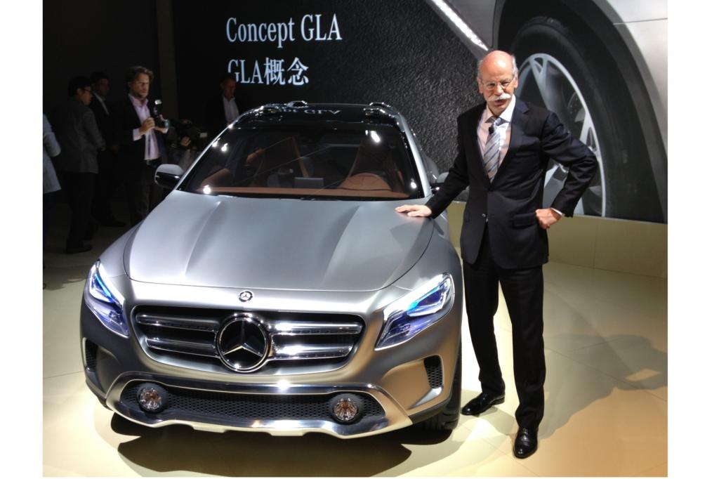 Das GLA Concept von Mercedes-Benz
