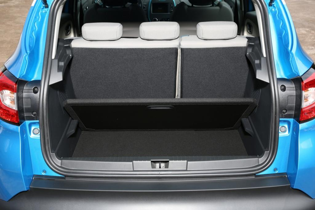 Das Standard-Kofferraumvolumen variiert zwischen 377 und 455 Liter