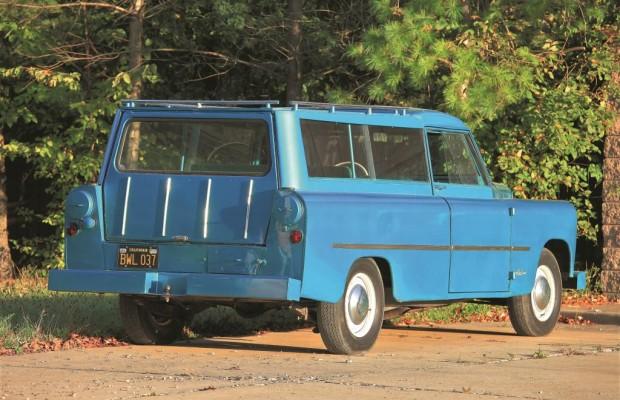 Das war das erste SUV - Mit Schublade für Angelruten