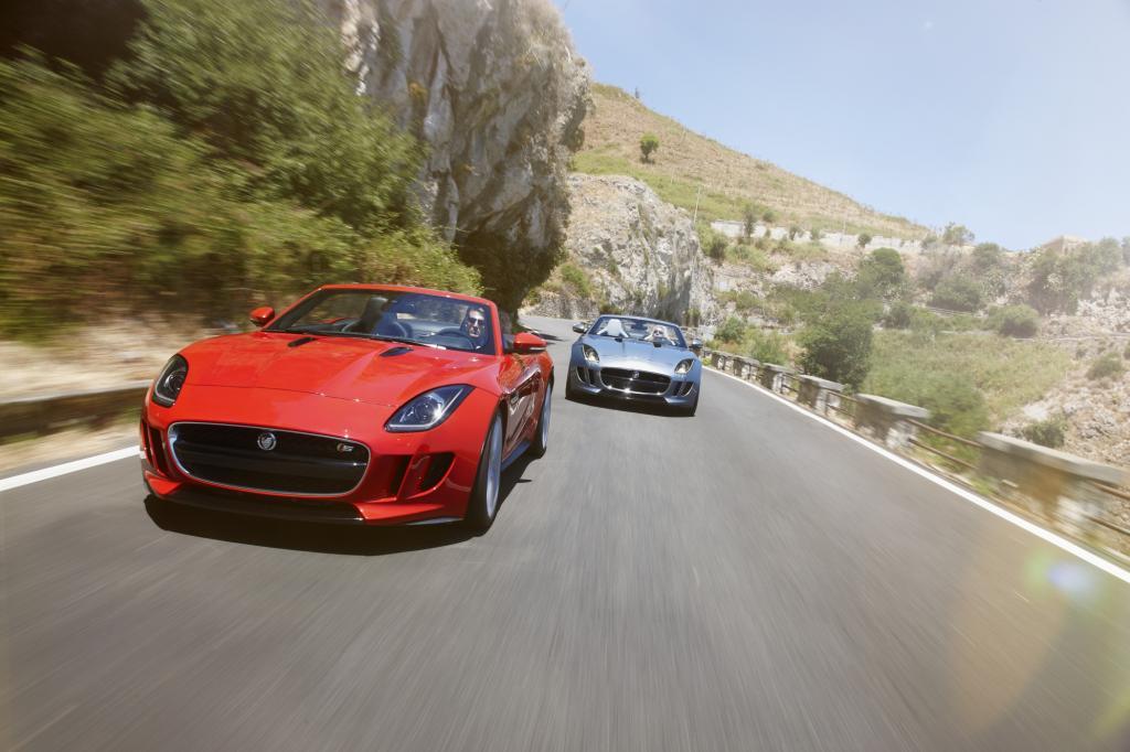 Der Jaguar F-Type will Porsche Boxster und BMW Z4 Konkurrenz machen