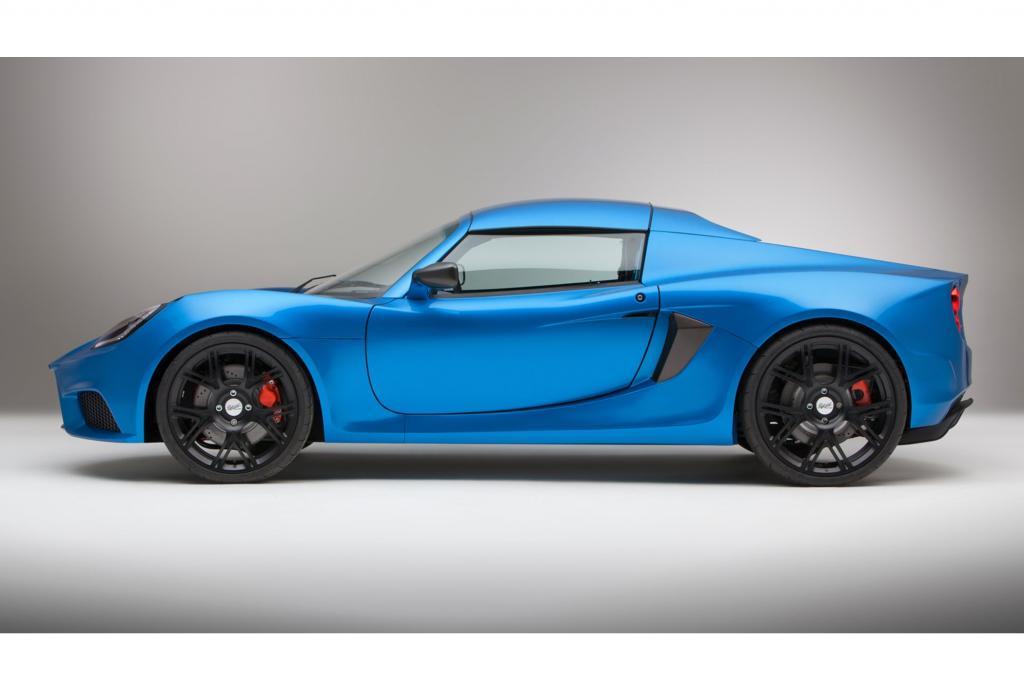 Der SP:01 basiert auf dem Lotus Exige