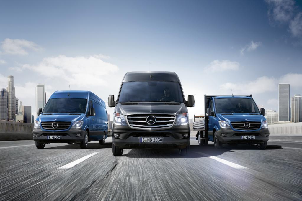 Der neue Mercedes Sprinter: Sicherer und sauber