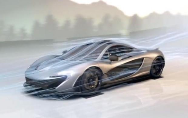 Designed by air - der McLaren P1 lustgeblasen