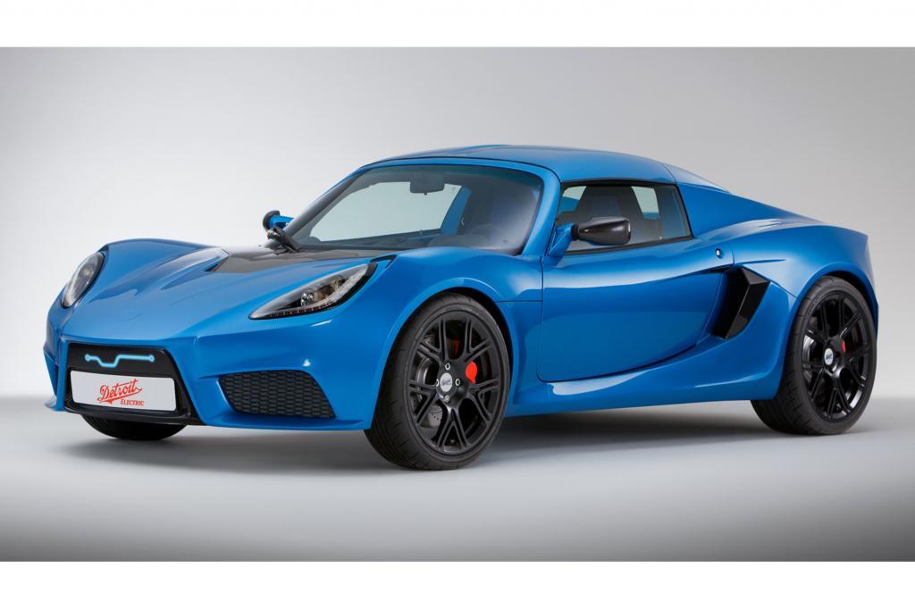 Detroit Electric stellt einen neuen E-Sportwagen vor
