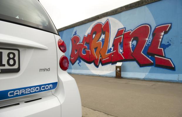 Ein Jahr Car2go in Berlin