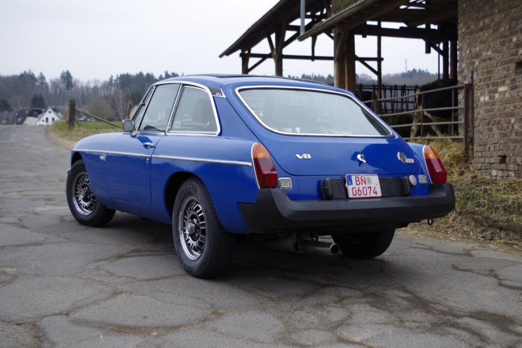 Einen Briten bitte: der MG B GT V8
