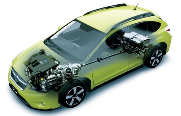 Erstes Subaru-Hybridmodell