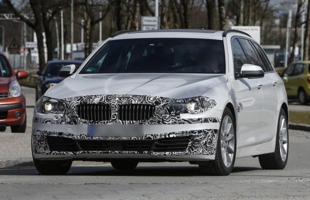 Erwischt: Erlkönig BMW 5er Touring - Der Mercedes-Konkurrent schlägt zurück