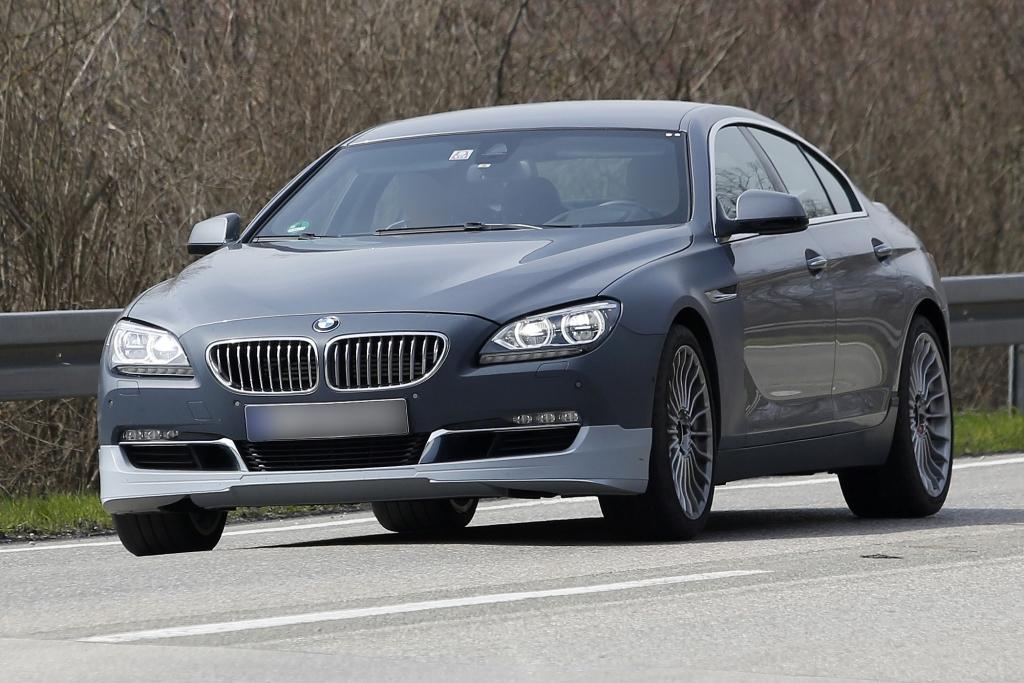 Erwischt: Erlkönig BMW 6er Gran Coupè Alpina -