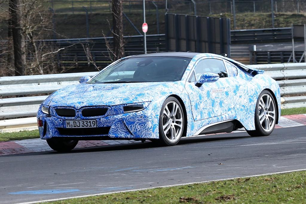 Erwischt: Erlkönig BMW i8 - Hybridsportler beim Training erwischt