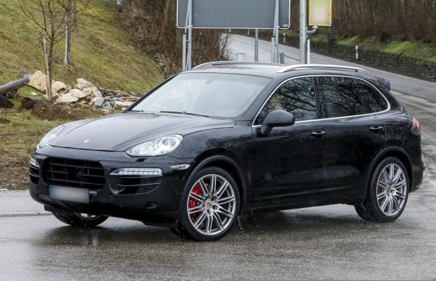 Erwischt: Erlkönig Porsche Cayenne Facelift – Wie der kleine Bruder