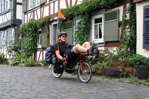 Fahrradkleidung häufig belastet