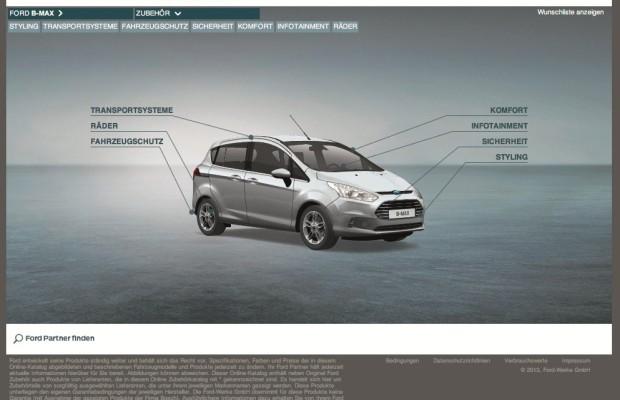 Ford Online-Zubehörkatalog gelauncht