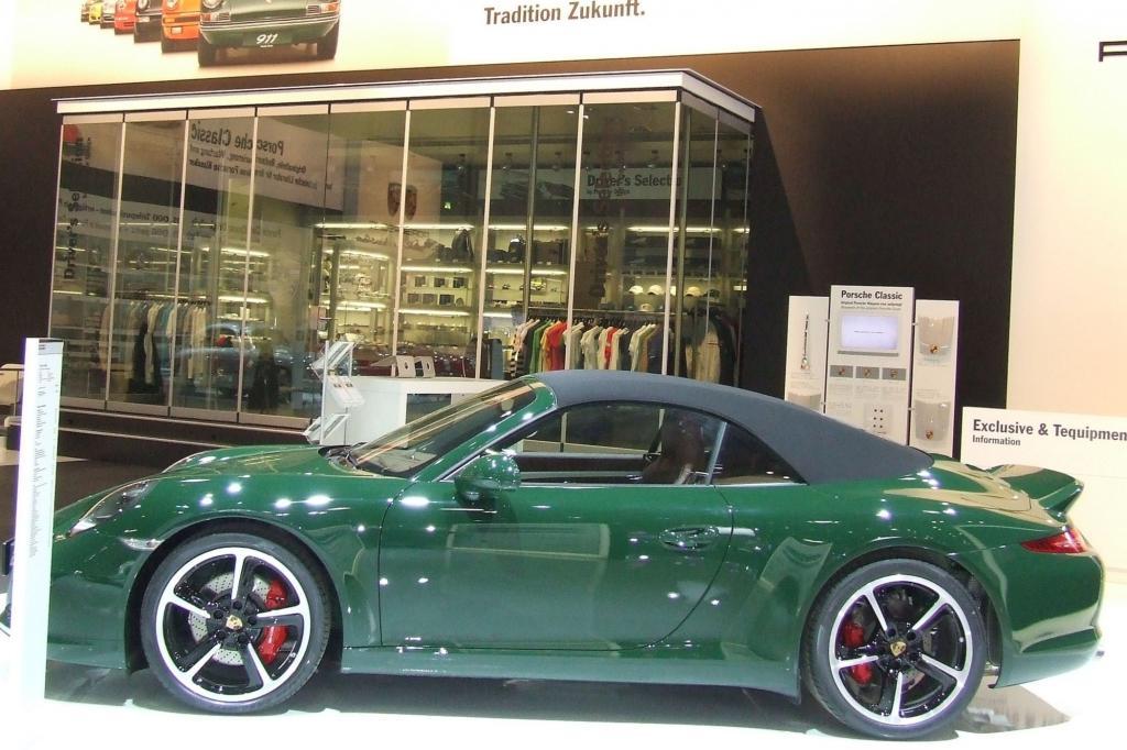 Größtenteils dominiert die Sportwagen-Ikone Porsche