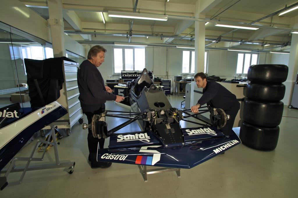In Rekordzeit hat das Werkstatt-Team den legendären Renner komplett restauriert
