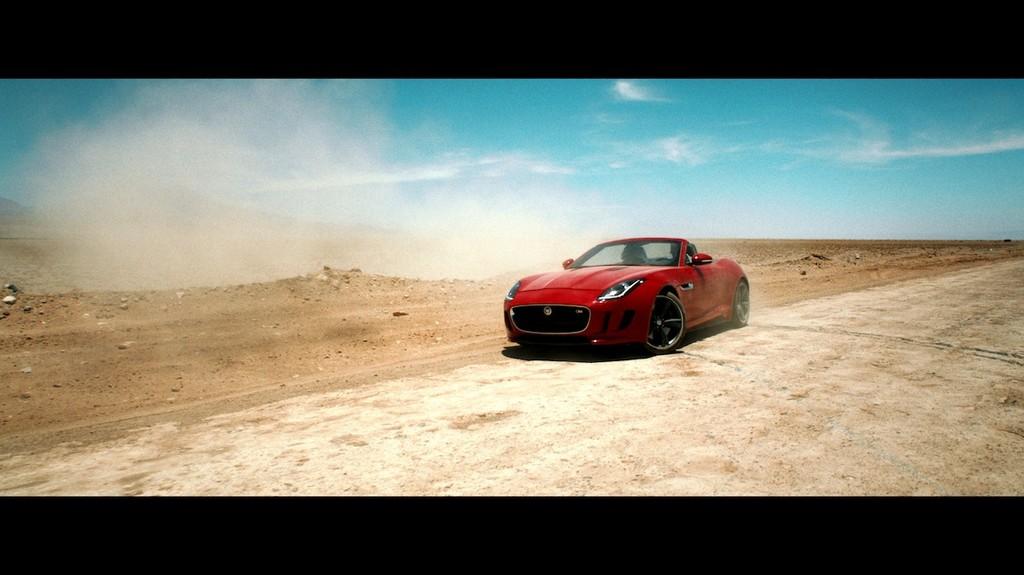 Jaguar F-Type im Kurzfilm