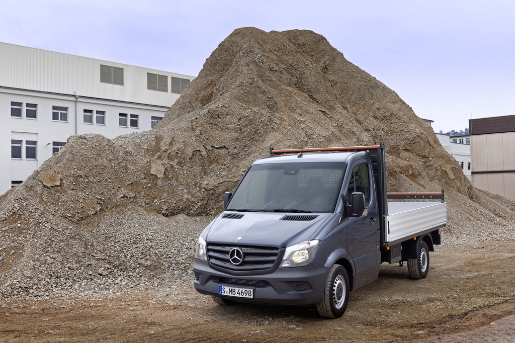 Knapp 2,5 Millionen verkaufte Mercedes-Benz Sprinter