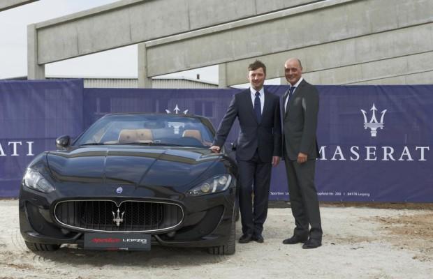 Maserati weitet deutsches Händlernetz aus