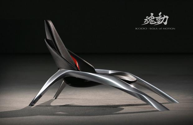 Mazda zeigt Stuhl im Kodo-Design