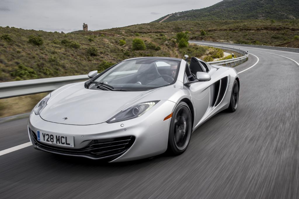 Mclaren bietet seinen Sportwagen auch als Roadster an