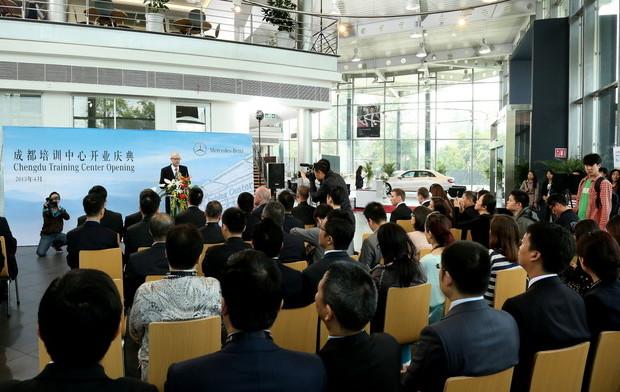 Mercedes-Benz-Trainingscenter in China eröffnet