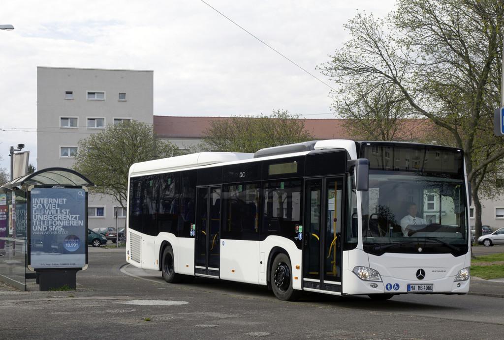 Mercedes-Benz startet Citaro-LE-Serie mit Erstauslieferung
