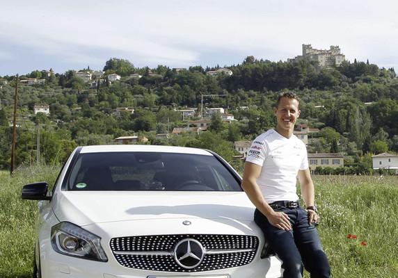 Mercedes-Benz und Michael Schumacher gemeinsam für Sicherheit