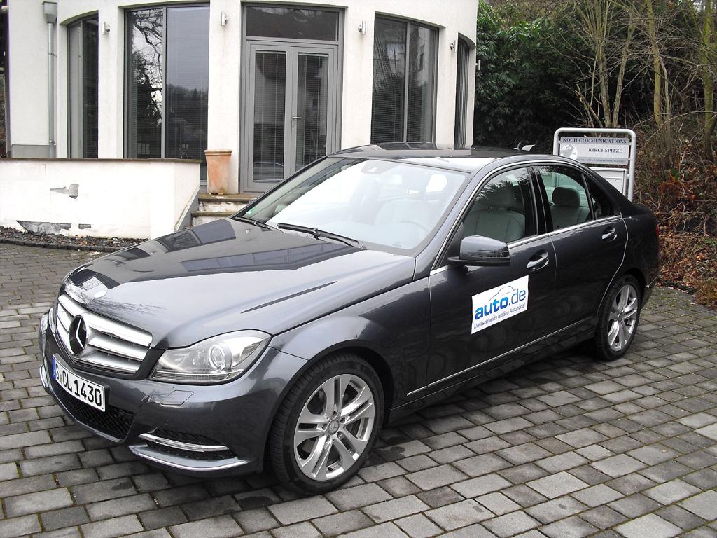 Mercedes C-Klasse, hier als Diesel-Limousine mit 150/204 kW/PS. Fotos: Koch