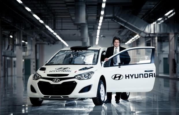 Michel Nandan ist Hyundai-WRC-Teamchef