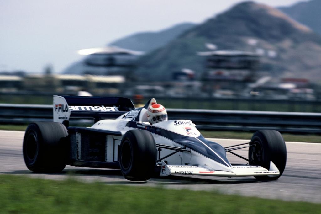 Mit dem ersten Turbomotor in der Geschichte der höchsten Motorsportklasse fuhr das Team Brabham BMW 1983 zum Gesamtsieg