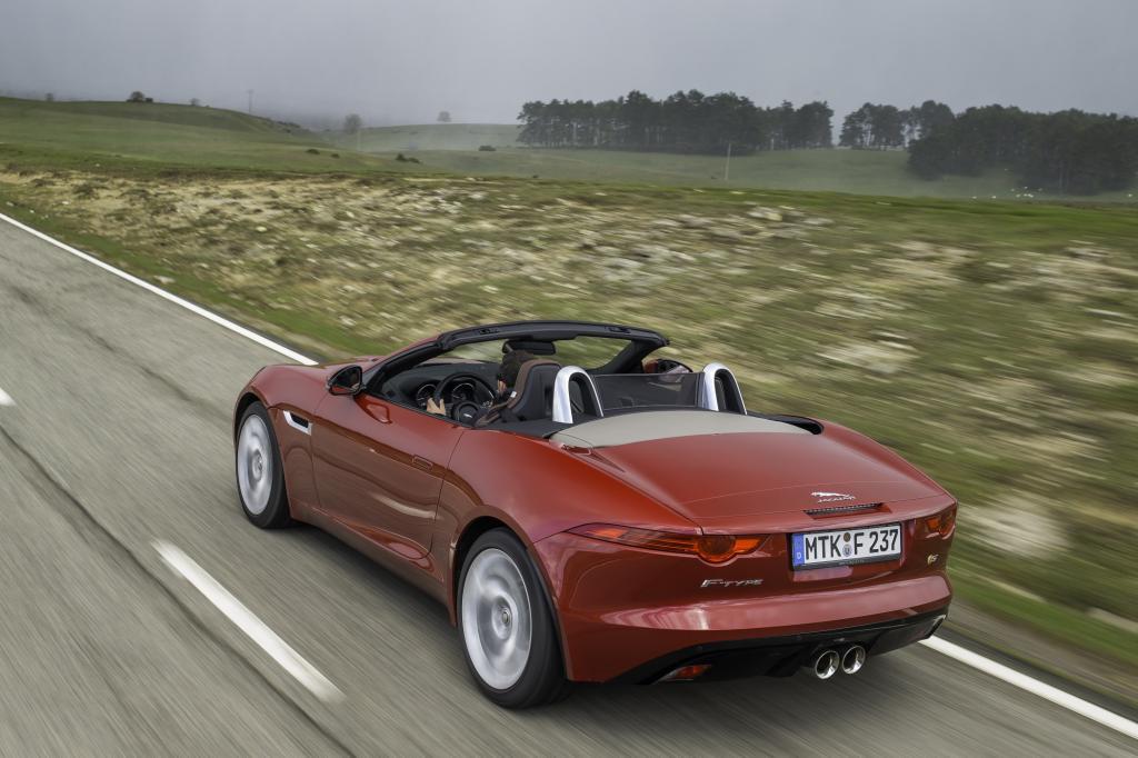 Mit dem komplett neu entwickelten F-Type will Jaguar nun wieder auf die Überholspur