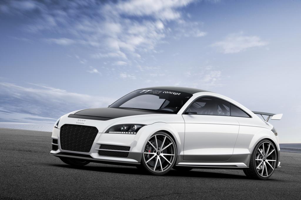 Mit einer Ultraleicht-Version des TT ist Audi beim GTI-Treffen vertreten