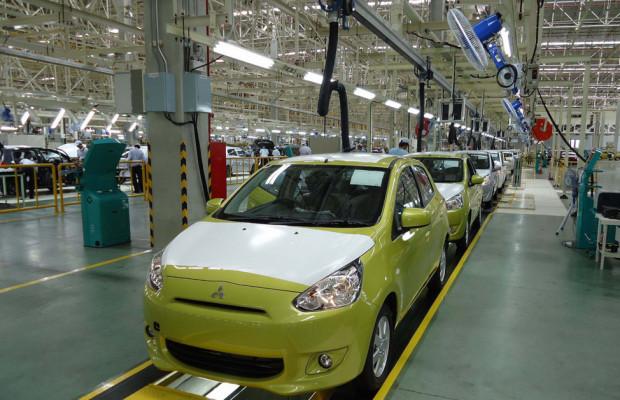 Mitsubishi baut globales Produktions-Drehkreuz in Thailand aus