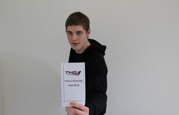 Moritz Oestreich fährt VLN für Toyota