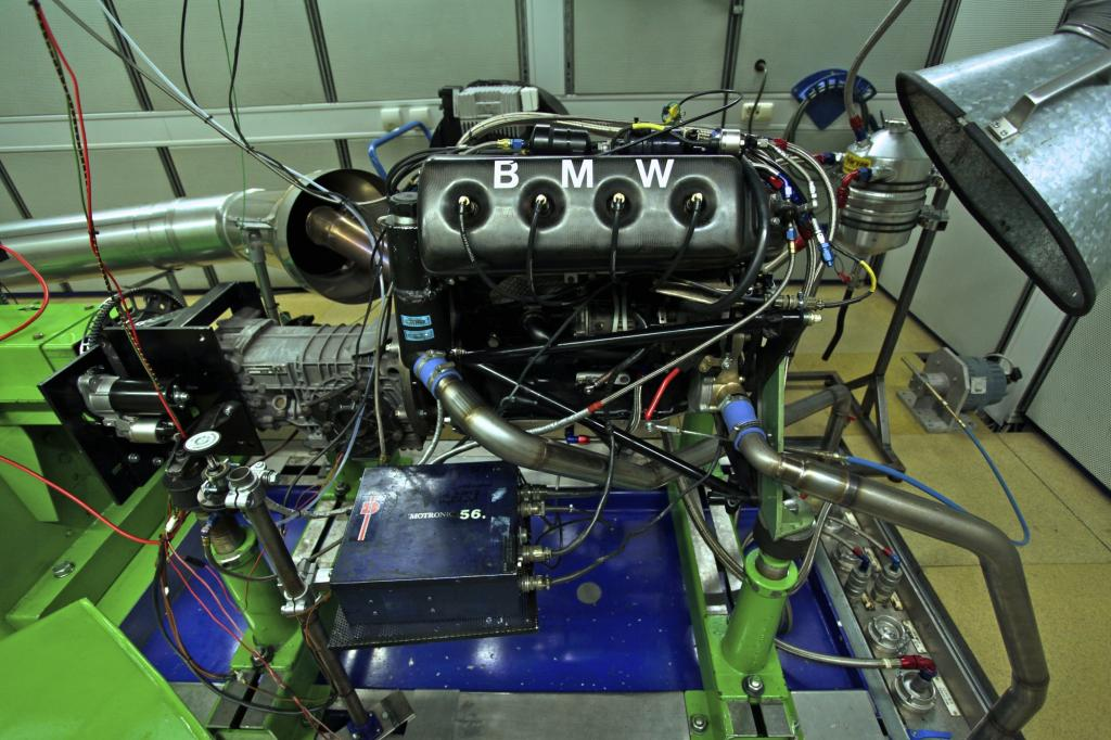 Motor des BMW F1 BT 52