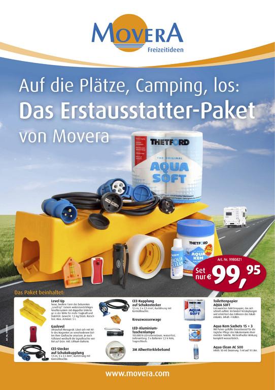 Movera bietet Camper-Erstausstattungs-Paket an