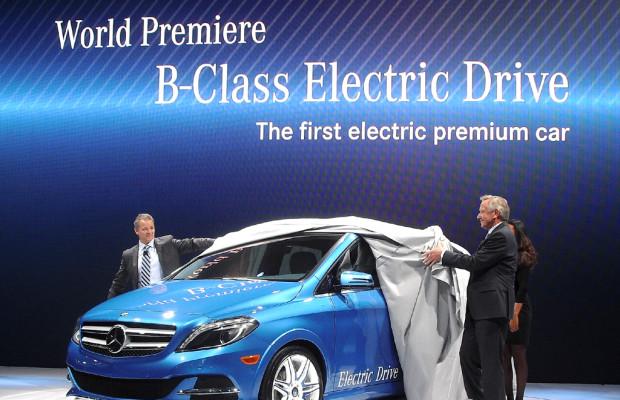 Nächster Stromer: Elektro-B-Klasse von Mercedes startet aber erst 2014 bei uns