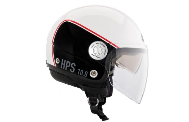 Neuer Jet-Helm mit Visier und Sonnenblende