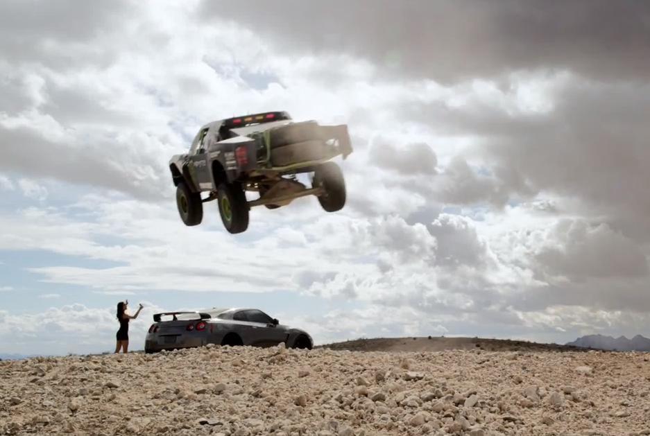 Nissan GT-R vs. Trophy Truck