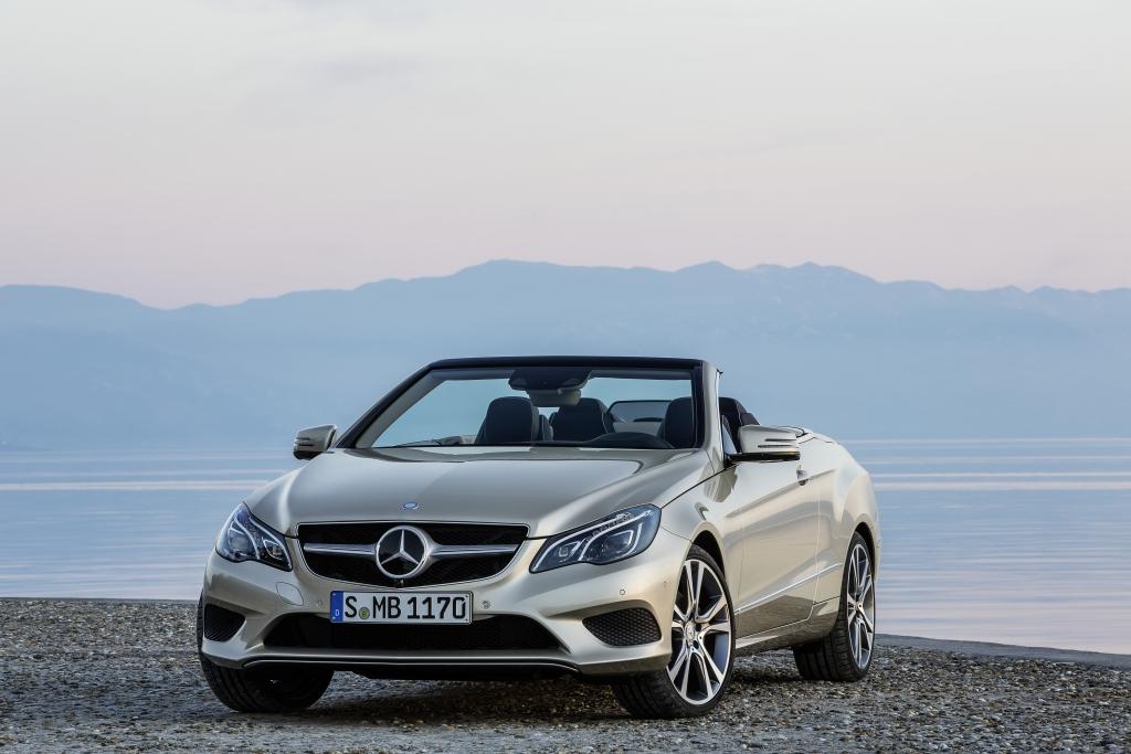 Noch deutlich umfangreicher ging Mercedes bei der Modellpflege seines E-Klasse-Cabrios zur Sache.