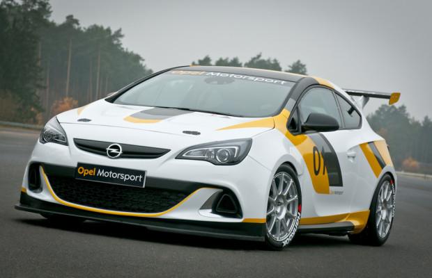 Opel-Astra-OPC-Cup in die erste Saison gestartet