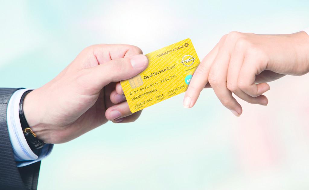 Opel führt Bezahlkarte ein