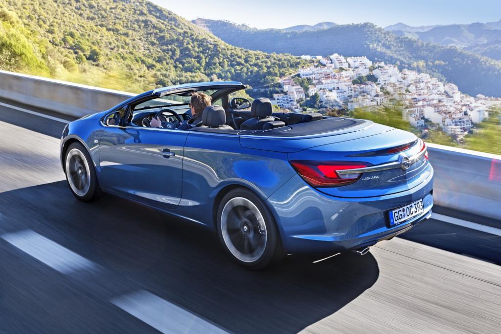 Opel positioniert sich mit dem Cascada in der Cabrio-Mittelklasse