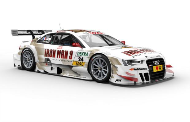 Optimierter Audi RS 5 DTM startet in Hockenheim