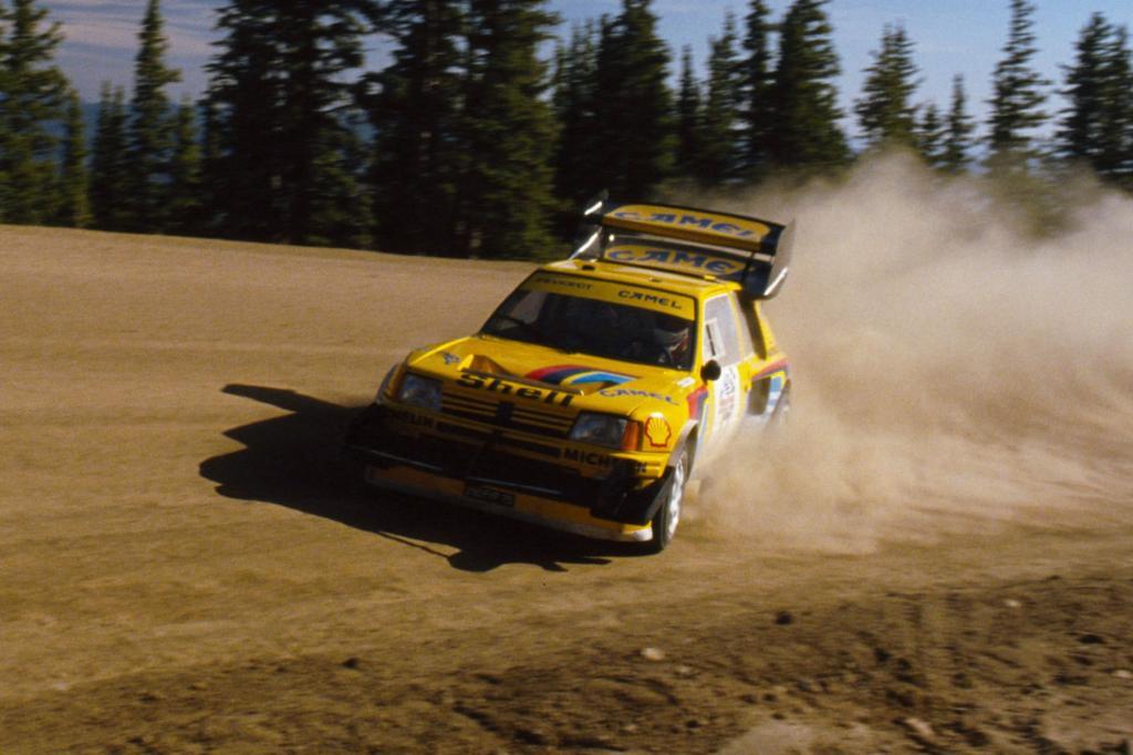 Peugeot 205 T16 Pikes Peak 1987