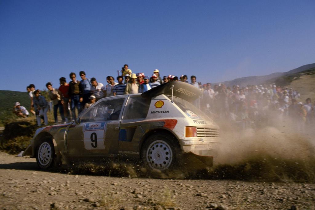 Peugeot 205 T16 Rallye 1984
