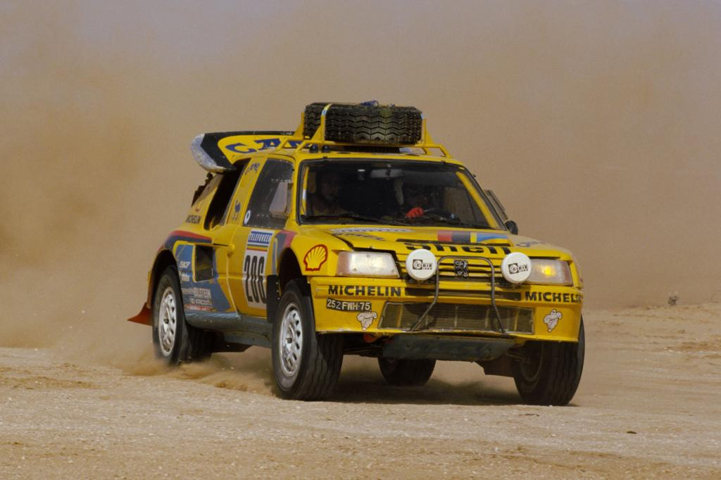 Peugeot 205 T16 Rallye Paris Dakar 1987